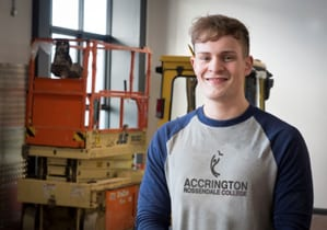 apprentice from accrington and rossendale college