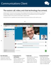 Cloud PBX Communications Client brochure