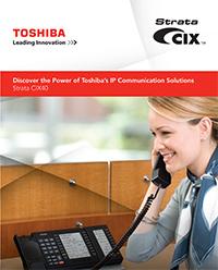Toshiba strata cix 40 brochure thumbnail