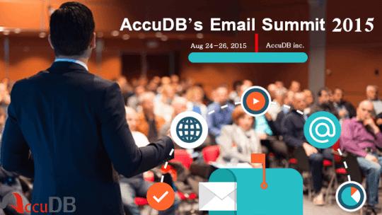 AccuDB's Email Summit 2015