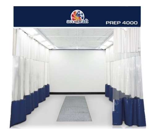Accudraft Prep4000 Automotive Aluminum Repair Isolation Station