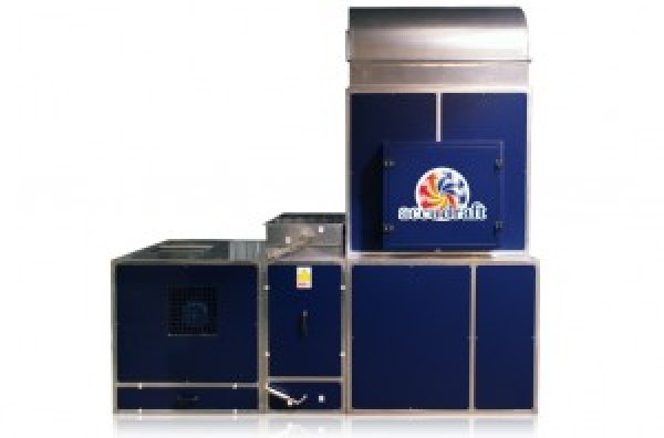 Accudraft Timeless Direct Drive Direct Fire Paint Booth Heating System with Heat Recycle