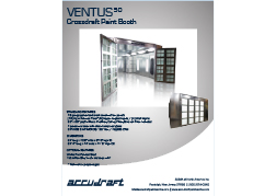 Accudraft-V50-Crossflow-Paint-Booth