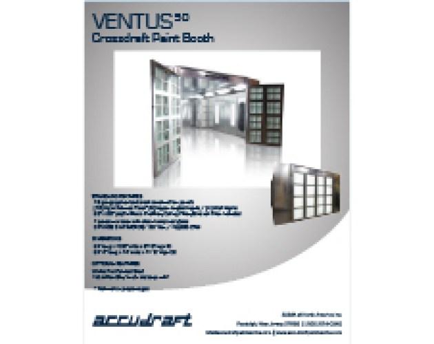 Accudraft VentusPRO Crossdraft Paint Booth