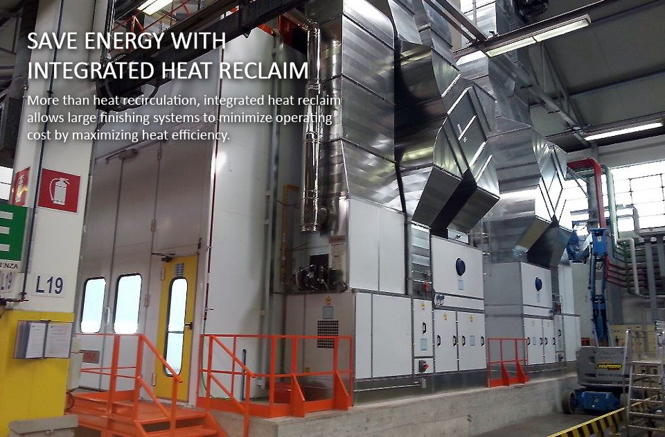 Paint Booth Heat Reclaim System Accudraft