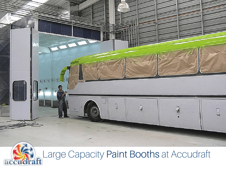 Large Capacity Paint Booths Can Handle Even the Biggest Jobs