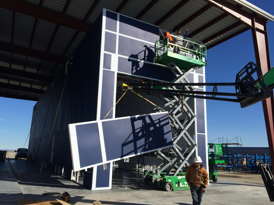 Finishing Accudraft Paint Booth Cabins in California