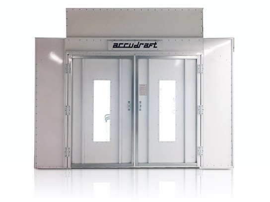 PRO-SERIES-Paint Booth with Windows