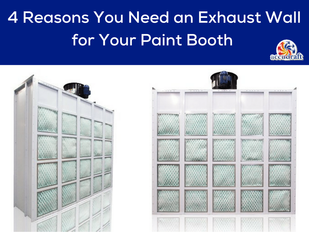 Rooms: 4 Reasons You Need An Exhaust Wall For Your Paint Booth