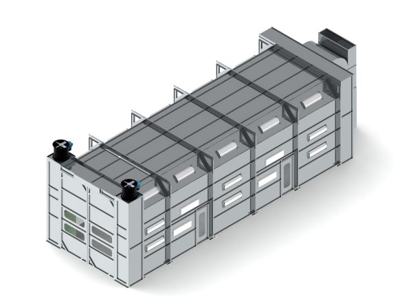 TX Pro Crossflow Truck Pant Booth render
