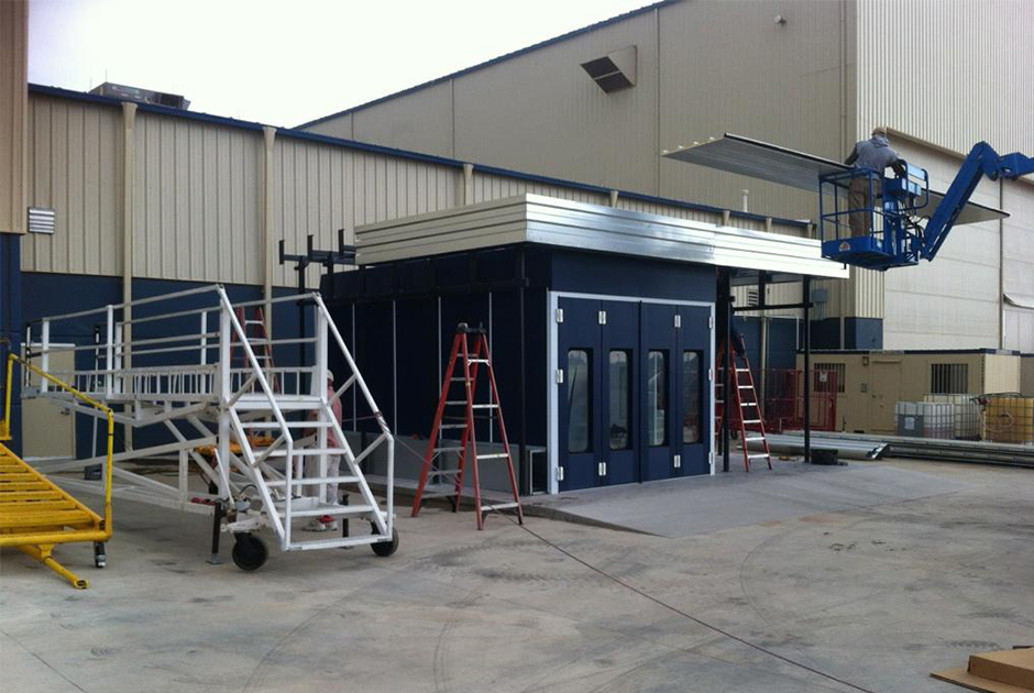 Rooms: Accudraft Outdoor Paint Booth