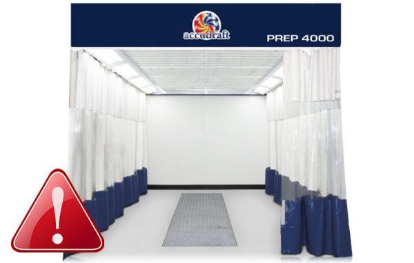 Accudraft Prep 4000 Booth Maintenance