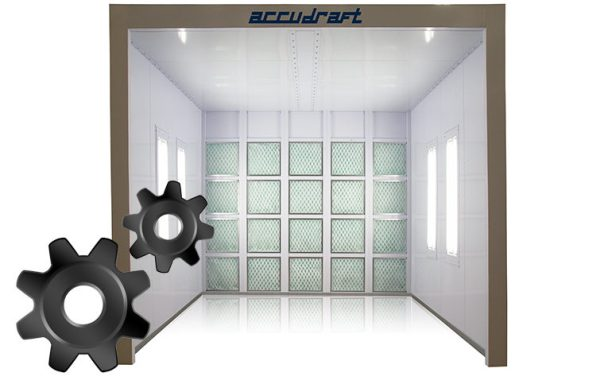 Paint Booth Repair for Parts and Filters