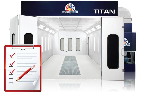 TITAN Paint Booth Service