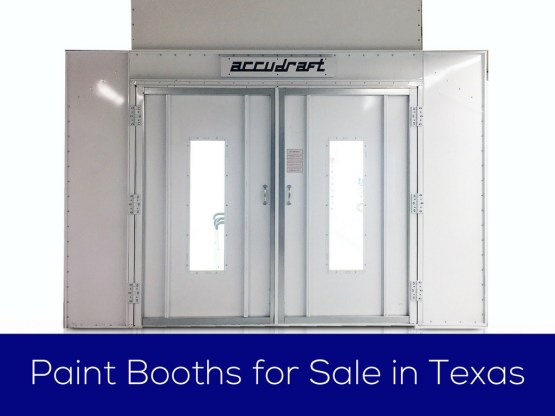 Paint Booths for Sale Texas