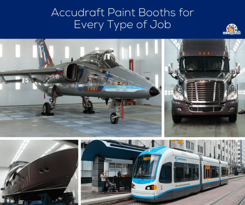 Paintbooths for All Jobs - Accudraft