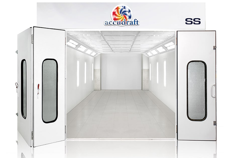 SS Space Saver Paint Booth | Accudraft