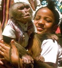 Kid and Chimp
