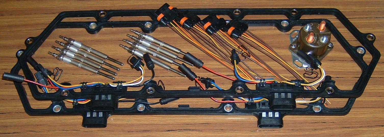 2000 7 3 Glow Plug Relay Wiring S I  Glow Plug Relay Wiring S I on