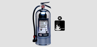 Wet Chemical Class K Extinguisher
