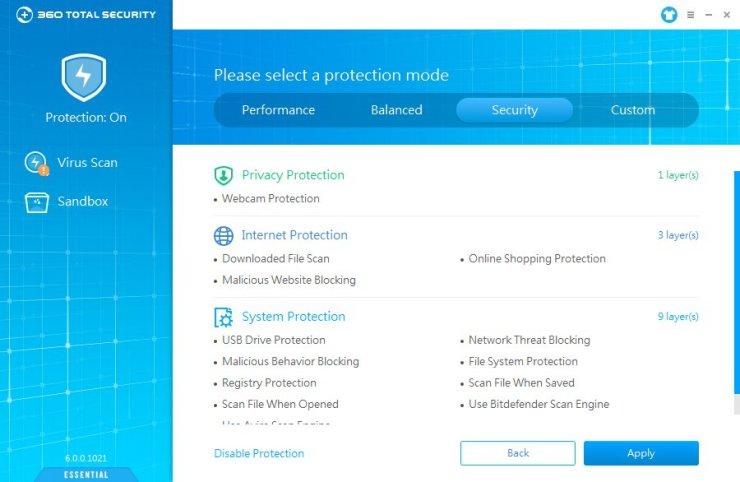 Qihoo 360 Total Security Essential - Accurate Reviews