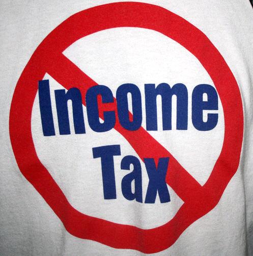 no income tax