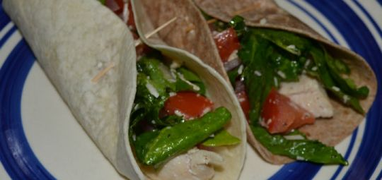 Bruschetta Chicken Wrap Recipe