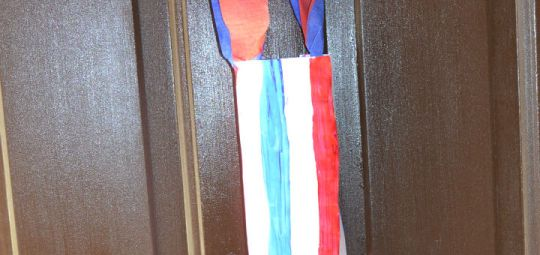 Fourth of July Windsock Craft