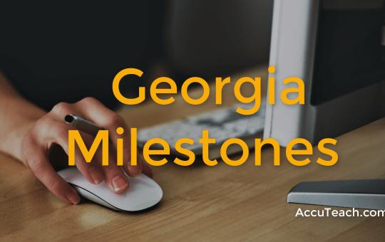 Georgia Milestones 2020