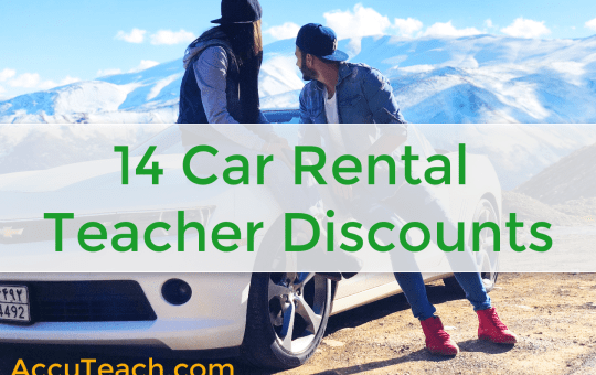 14 Car Rental Discounts for Teachers