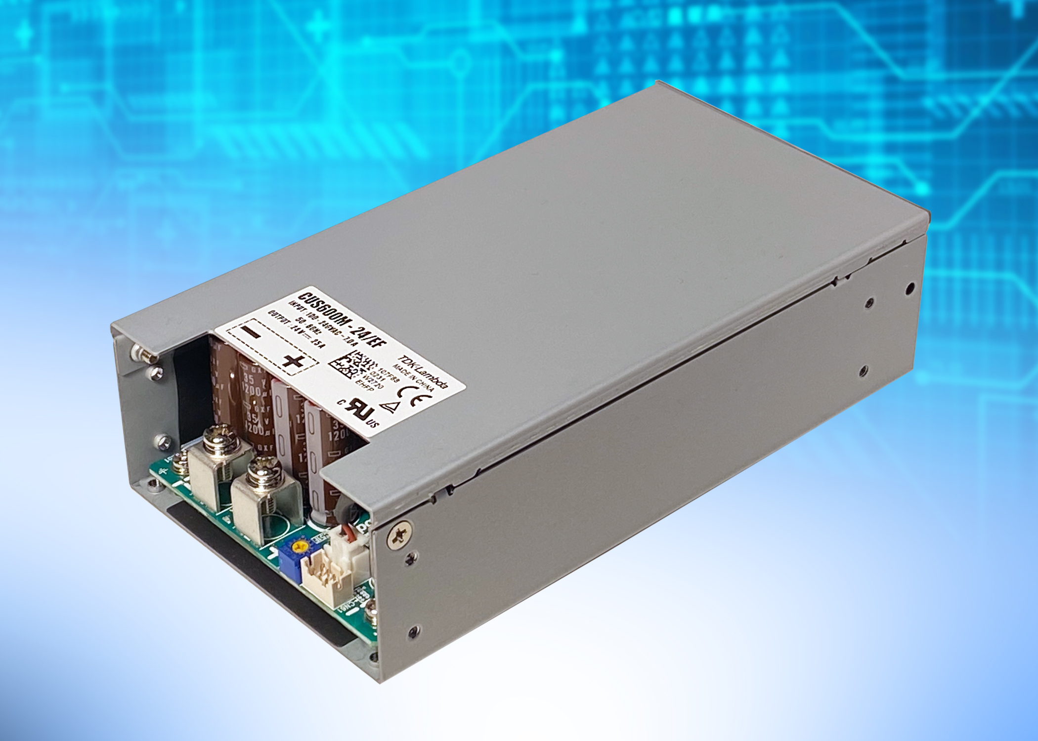 CUS600M – 600 W medical and industrial power supplies
