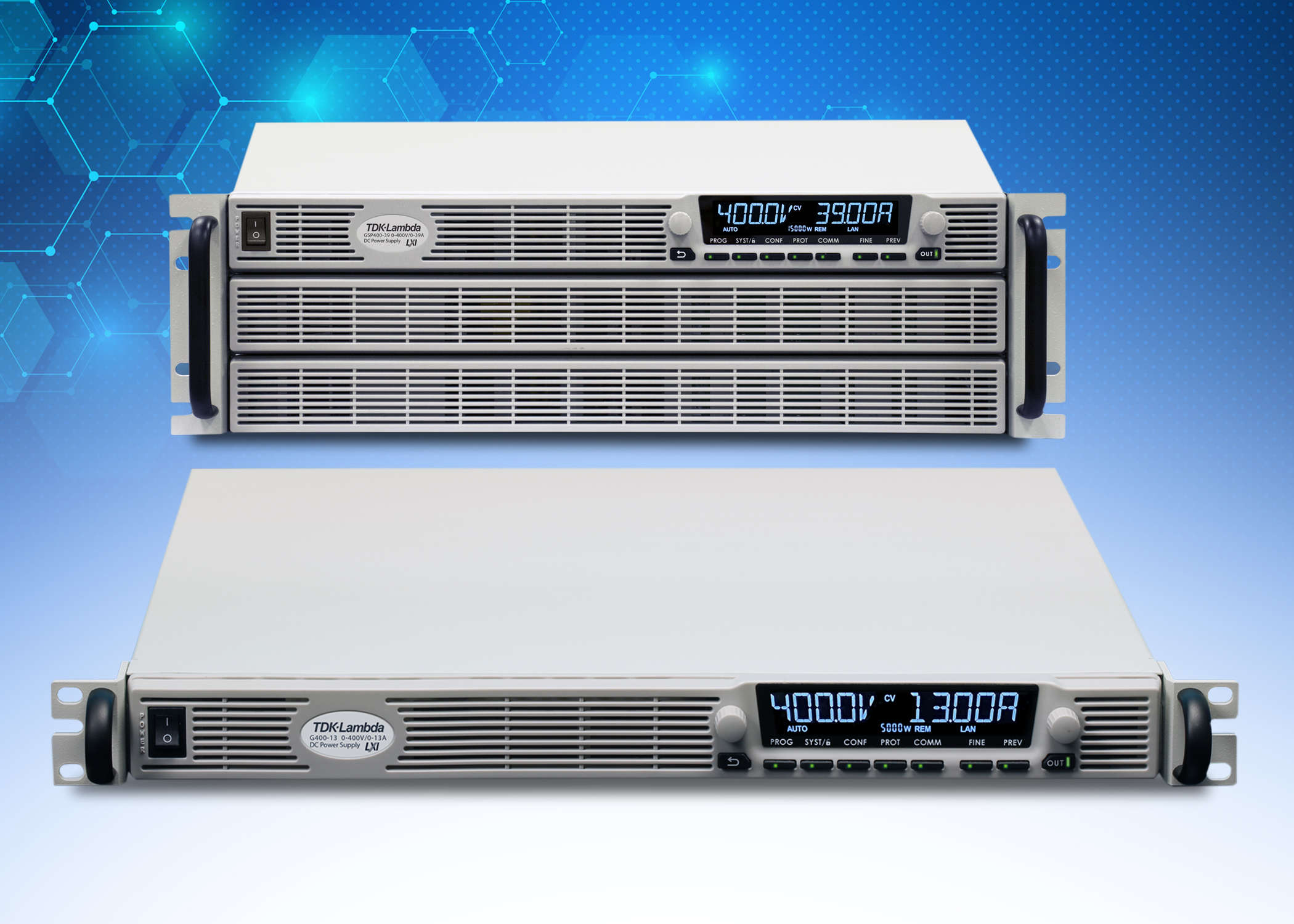 GENESYS+ – New output voltages to address EV and hydrogen production applications