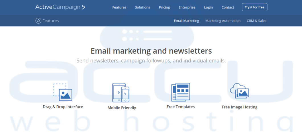 Active Campaign Email Marketing Services