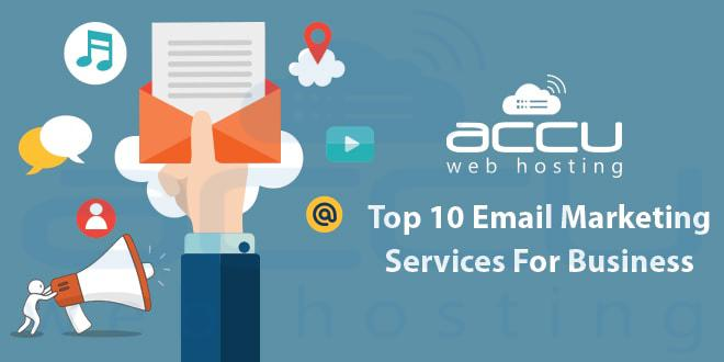 Top 10 Email Marketing Services For Business | Windows VPS Hosting