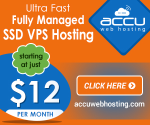 VPS Hosting - AccuWebHosting