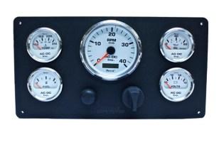 Universal Marine Power Engine Instrument Panel