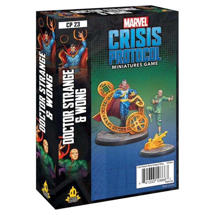 Marvel CP: Dr. Strange & Wong Character