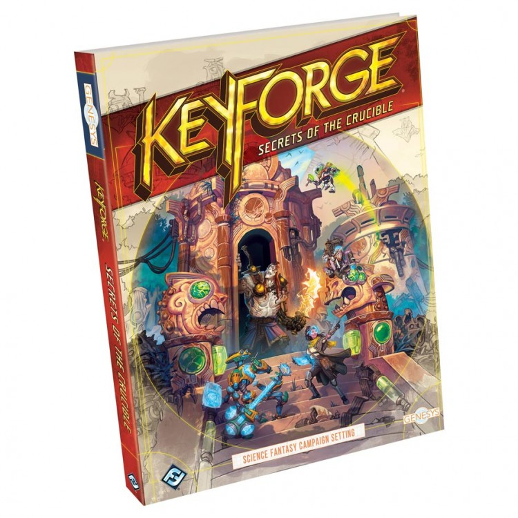 Genesys:KeyForge:Secrets of the Crucible