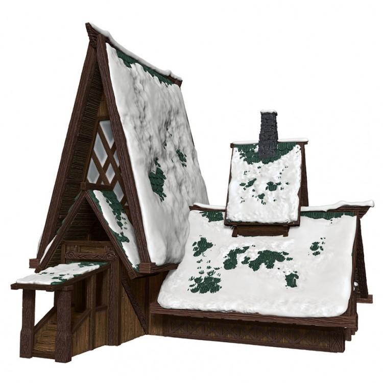 D&D: IR: Icewind Dale: Lodge Papercraft