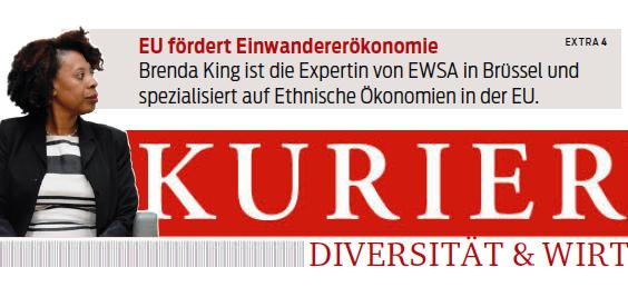 Brenda King featured in Austrian newspaper KURIER