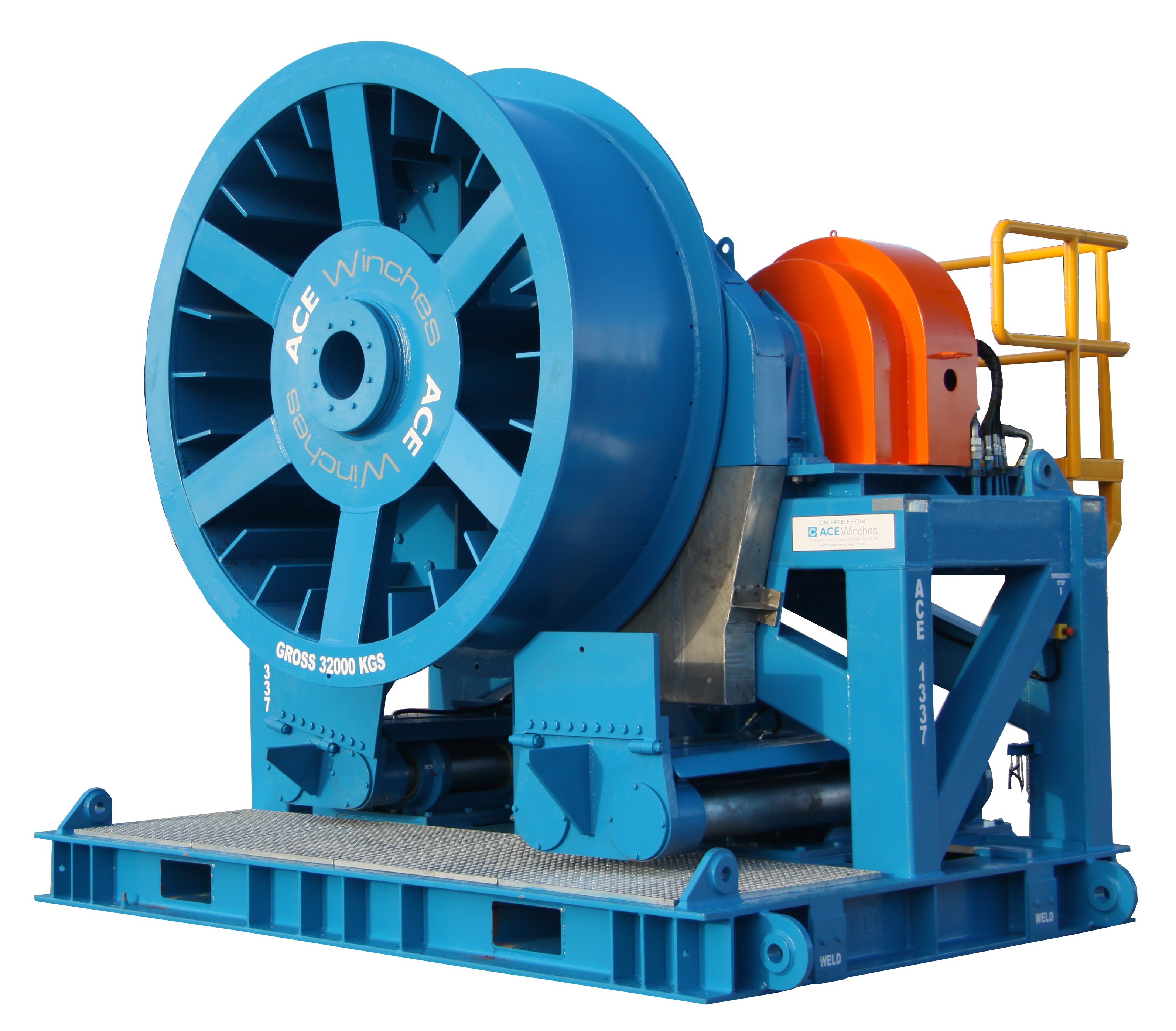 Drive Traction Winch Drum