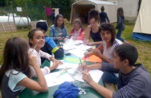 campements d'été en Haute Loire
