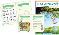 Cahier d'activité enfant pour l'été
