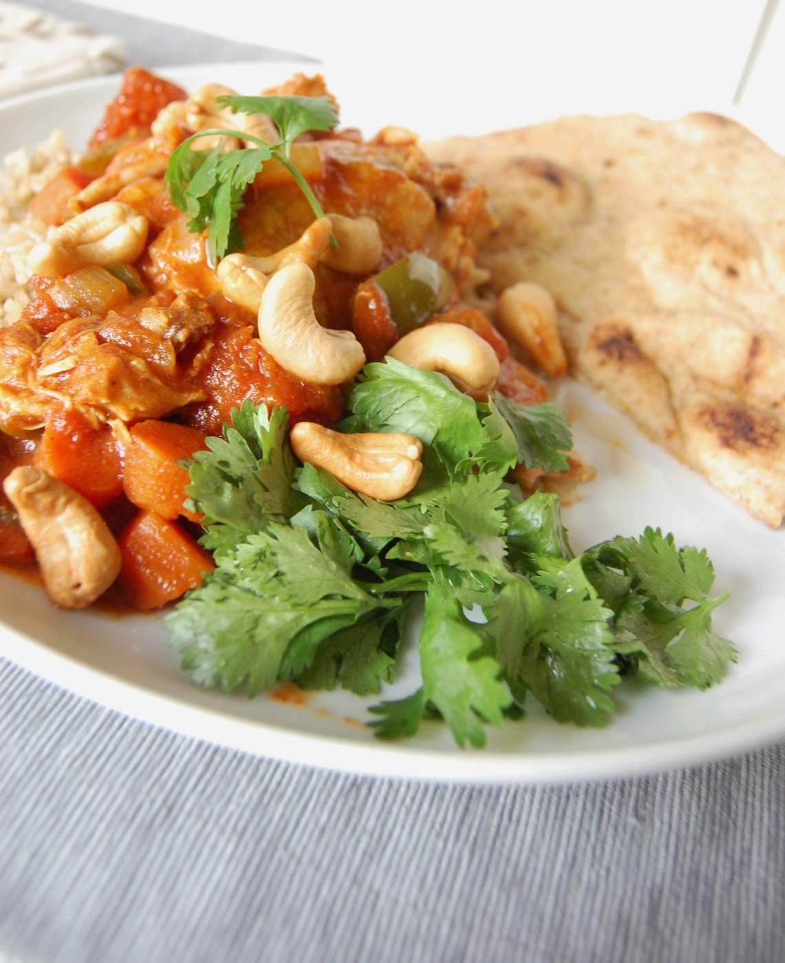 Slow Cooker Coconut Curry Chicken - A Cedar Spoon