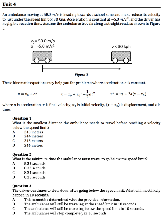 gamsat physics practice questions