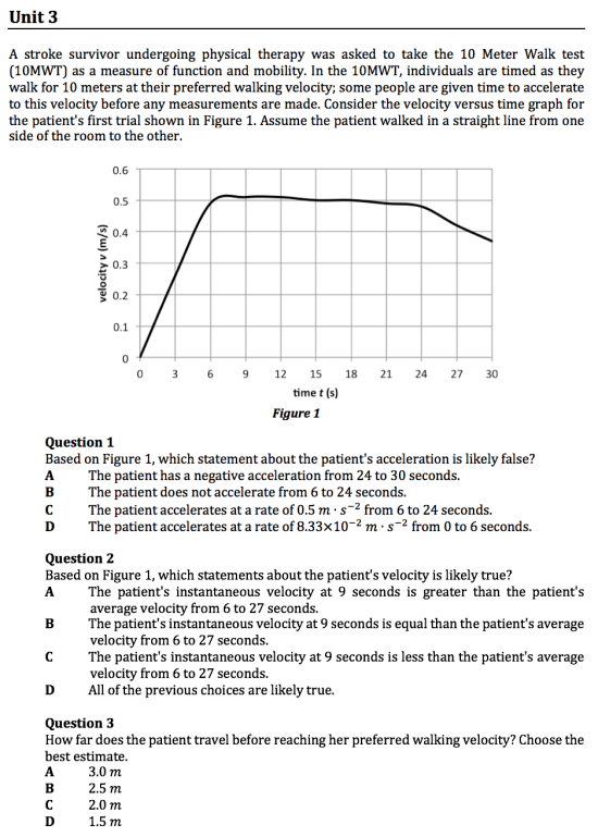 gamsat physics questions