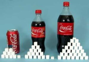 Cantidad de Azúcar en los refrescos