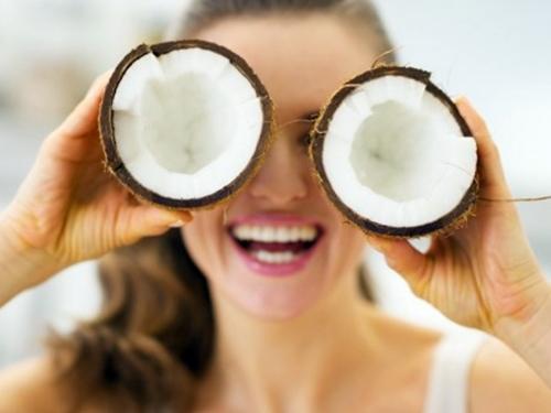 aceite de coco para cara irritada