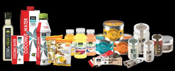 Gama completa de productos Cocofina