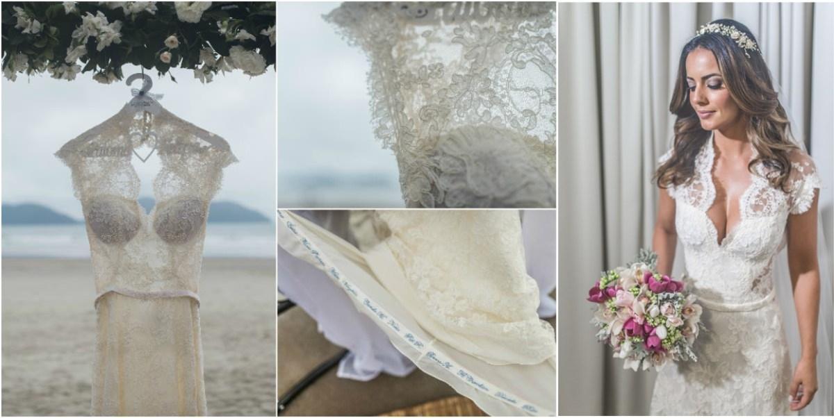 Vestido de noiva para casamento na praia - Paloma Tocci
